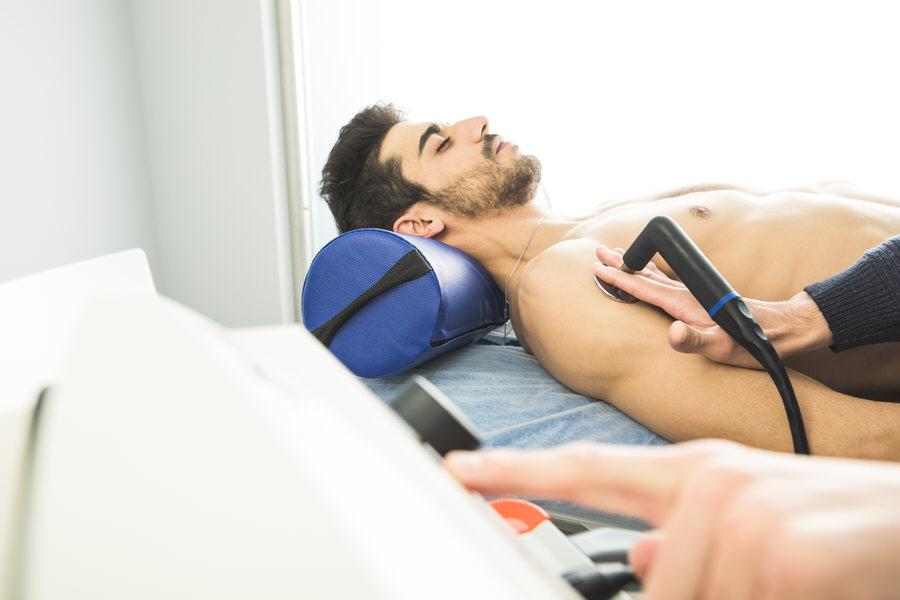 Ultraschall Physiotherapie